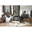 Signature Design by Ashley Daneston King Bedroom Group - Item Number: B292 K Bedroom Group 1