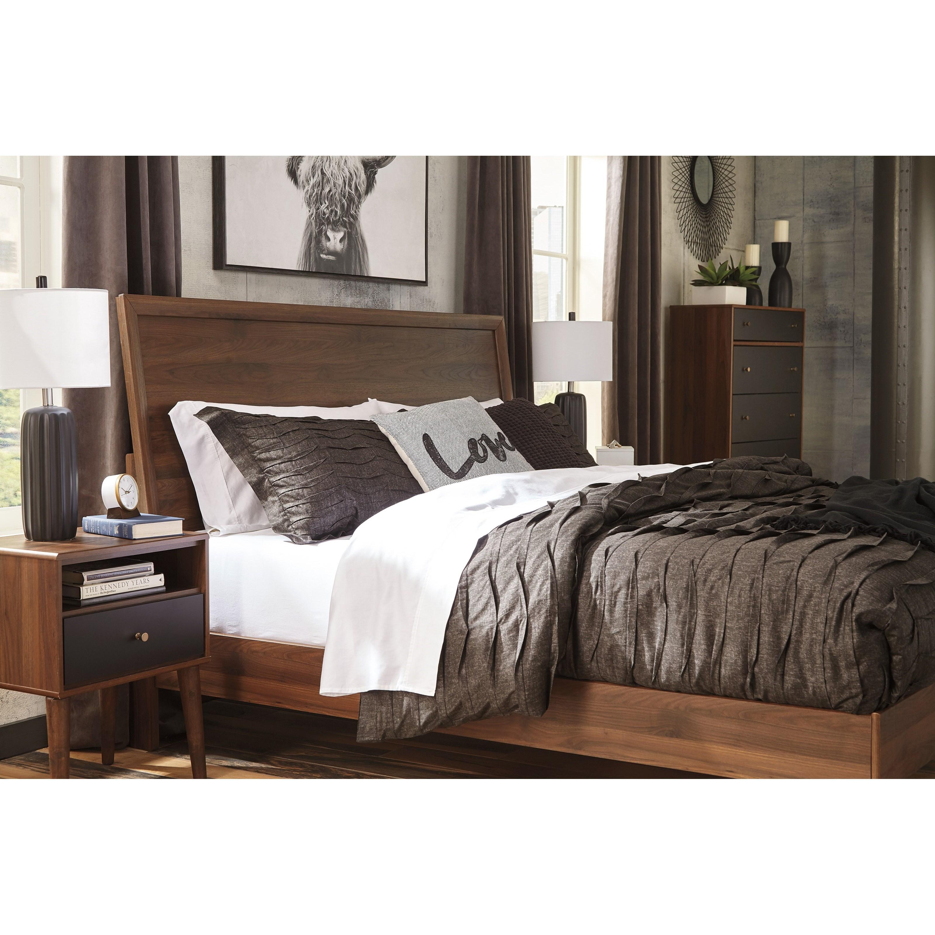 Ashley Furniture In Brandon Fl: Signature Design By Ashley Daneston Mid-Century Modern