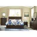 Signature Design by Ashley Darbry King Bedroom Group - Item Number: B574 K Bedroom Group 2
