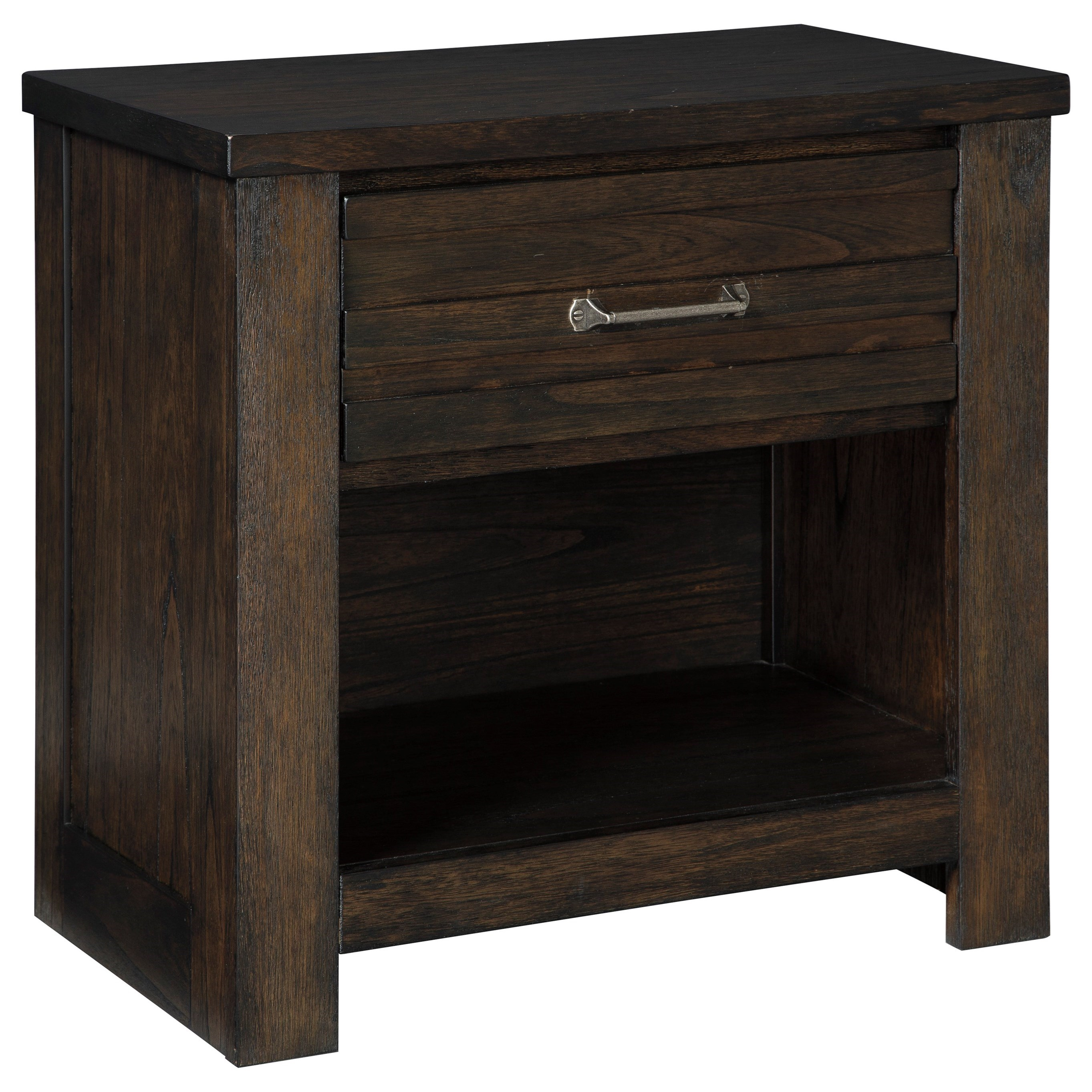 Darbry One Drawer Night Stand by Ashley (Signature Design) at Johnny Janosik