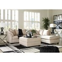 Signature Design by Ashley Darcy - Stone Stationary Living Room Group - Item Number: 75000 Living Room Group 11
