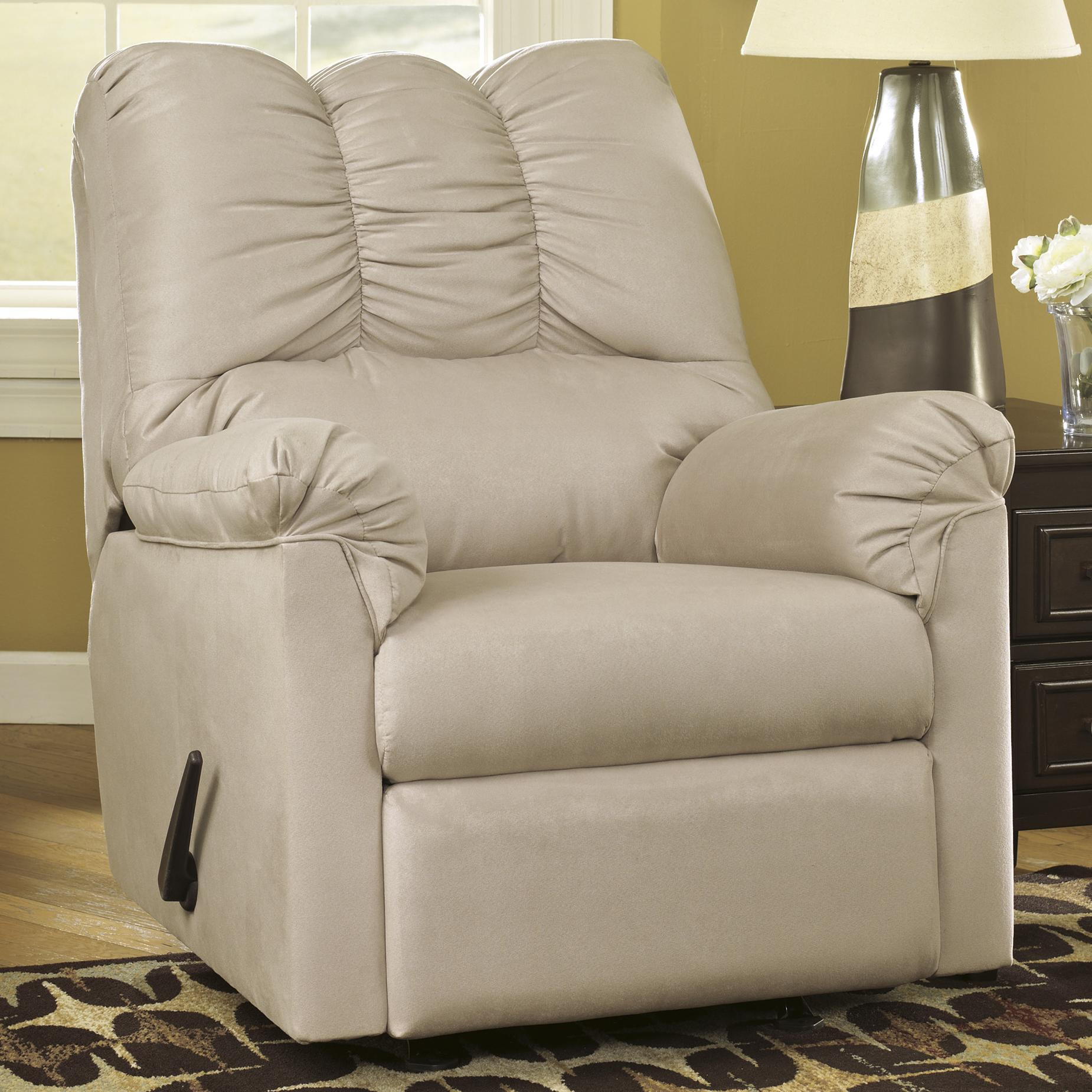 Darcy - Stone Rocker Recliner by Ashley (Signature Design) at Johnny Janosik