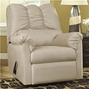 Ashley (Signature Design) Darcy - Stone Rocker Recliner