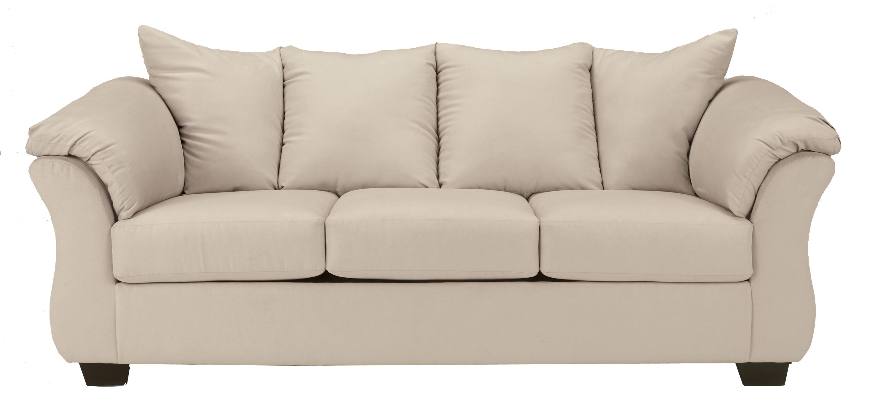 Signature Design by Ashley Darcy - Stone Stationary Sofa - Item Number: 7500038