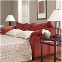 Signature Design by Ashley Darcy - Salsa Contemporary Full Sleeper with Flared Back Pillows