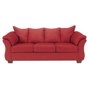 Ashley (Signature Design) Darcy - Salsa Stationary Sofa