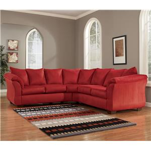 Signature Design by Ashley Darcy - Salsa Sectional Sofa