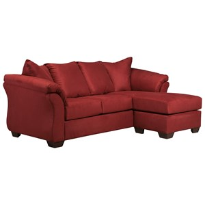 Signature Design by Ashley Darcy - Salsa Full Sofa Chaise Sleeper