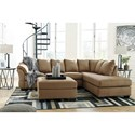 Signature Design by Ashley Darcy - Mocha Stationary Living Room Group - Item Number: 75002 Living Room Group 9