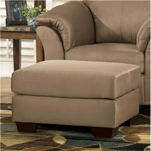 Signature Design by Ashley Darcy - Mocha Ottoman