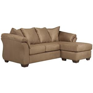 Signature Design by Ashley Darcy - Mocha Sofa Chaise