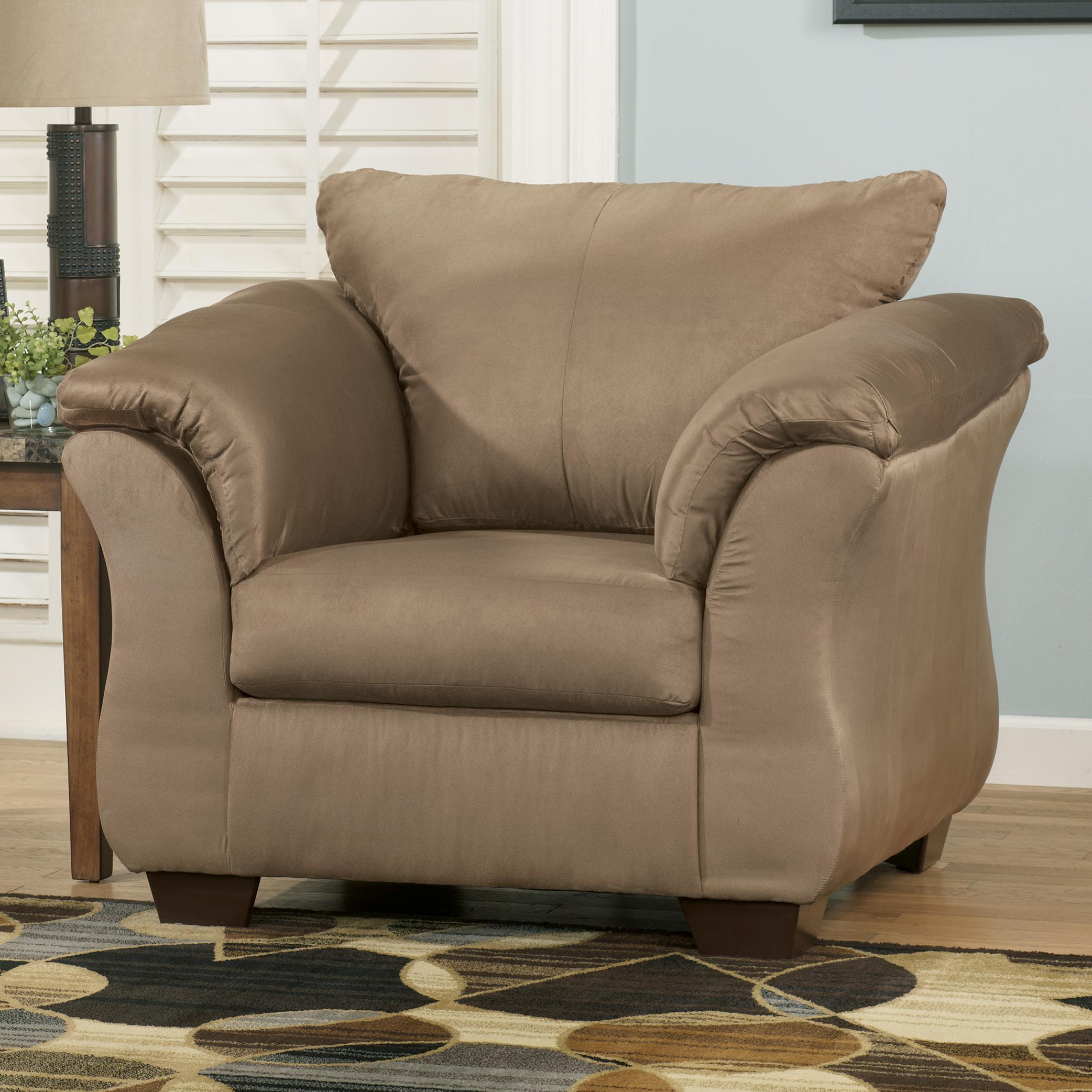 Signature Design by Ashley Darcy - Mocha Upholstered Chair - Item Number: 7500220