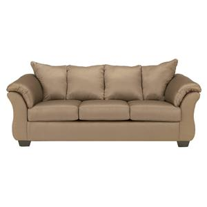 Signature Design by Ashley Darcy - Mocha Stationary Sofa