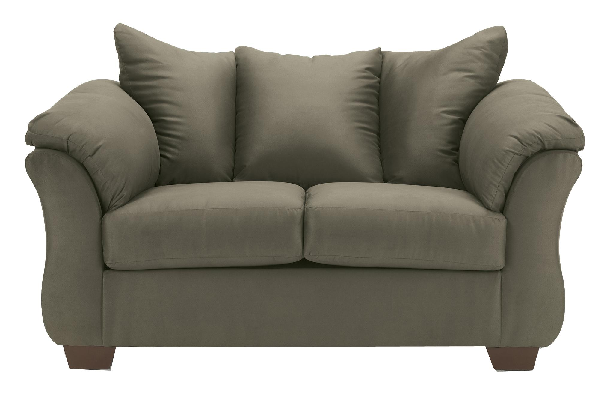 Signature Design by Ashley Darcy - Sage Stationary Loveseat - Item Number: 7500335