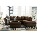 Signature Design by Ashley Darcy - Cafe Stationary Living Room Group - Item Number: 75004 Living Room Group 11