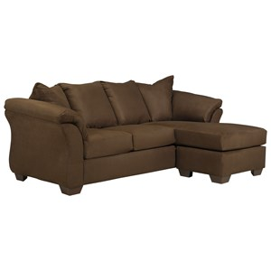Signature Design by Ashley Darcy - Cafe Full Sofa Chaise Sleeper
