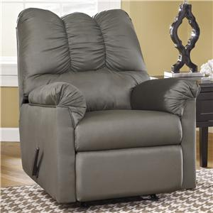 Ashley (Signature Design) Darcy - Cobblestone Rocker Recliner