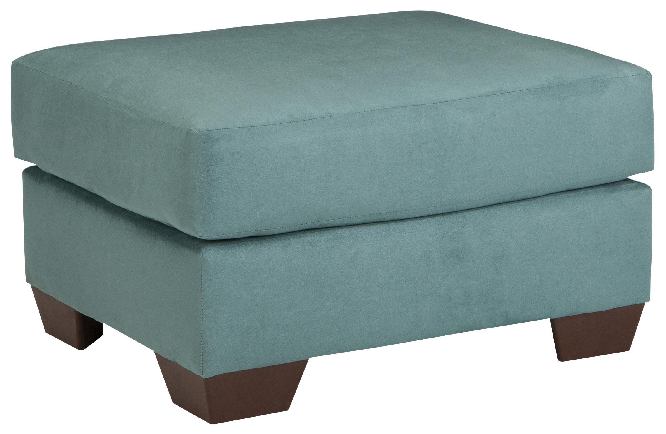 Darcy - Sky Ottoman by Ashley (Signature Design) at Johnny Janosik