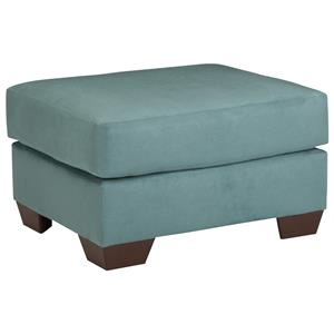Signature Design by Ashley Darcy - Sky Ottoman