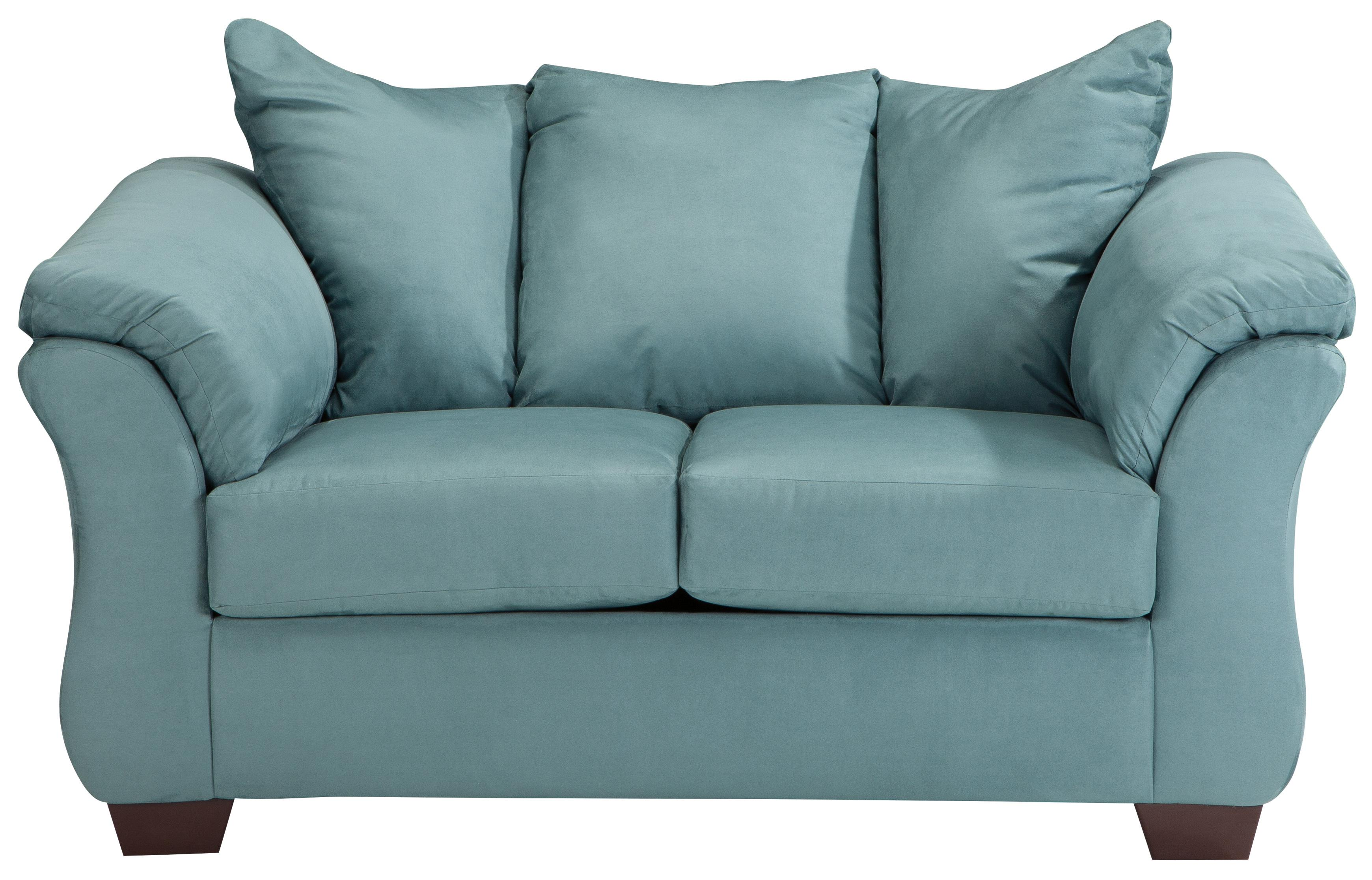 Signature Design by Ashley Darcy - Sky Stationary Loveseat - Item Number: 7500635