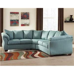 Signature Design by Ashley Darcy - Sky Sectional Sofa