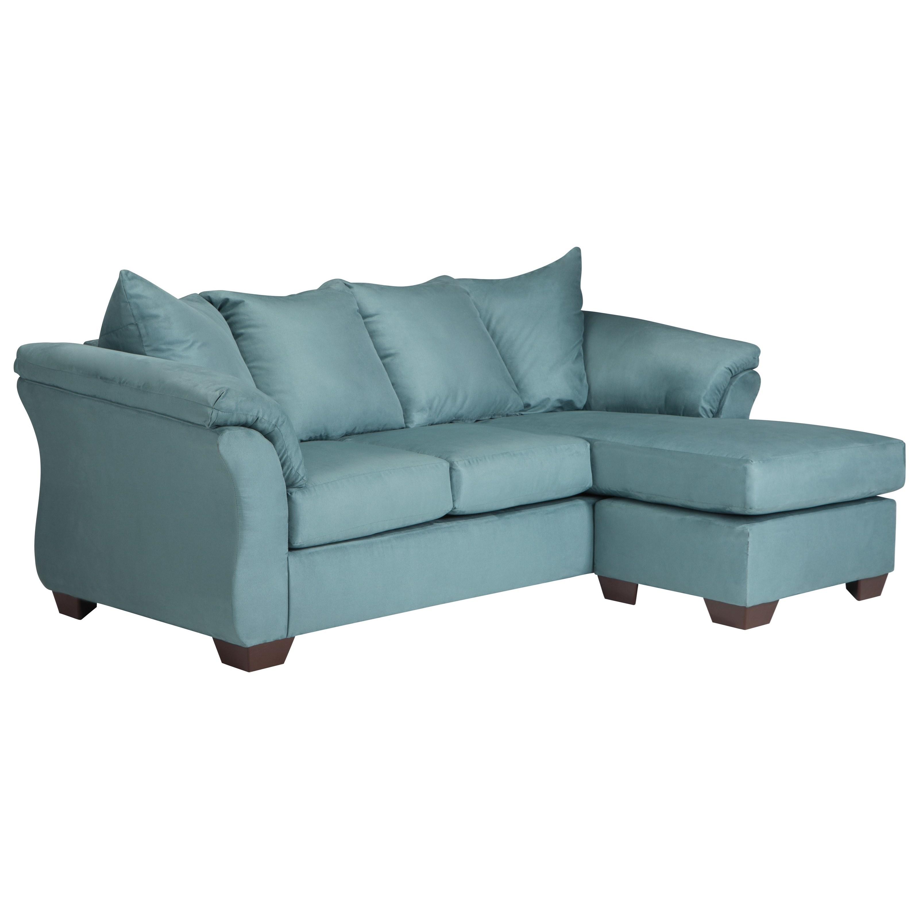 Signature Design by Ashley Vista - Sky Full Sofa Chaise Sleeper - Item Number: 7500658