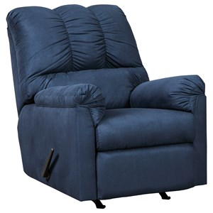 Ashley Signature Design Darcy - Blue Rocker Recliner