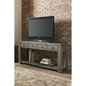 Signature Design by Ashley Daybrook Industrial Console Table with Four Drawers