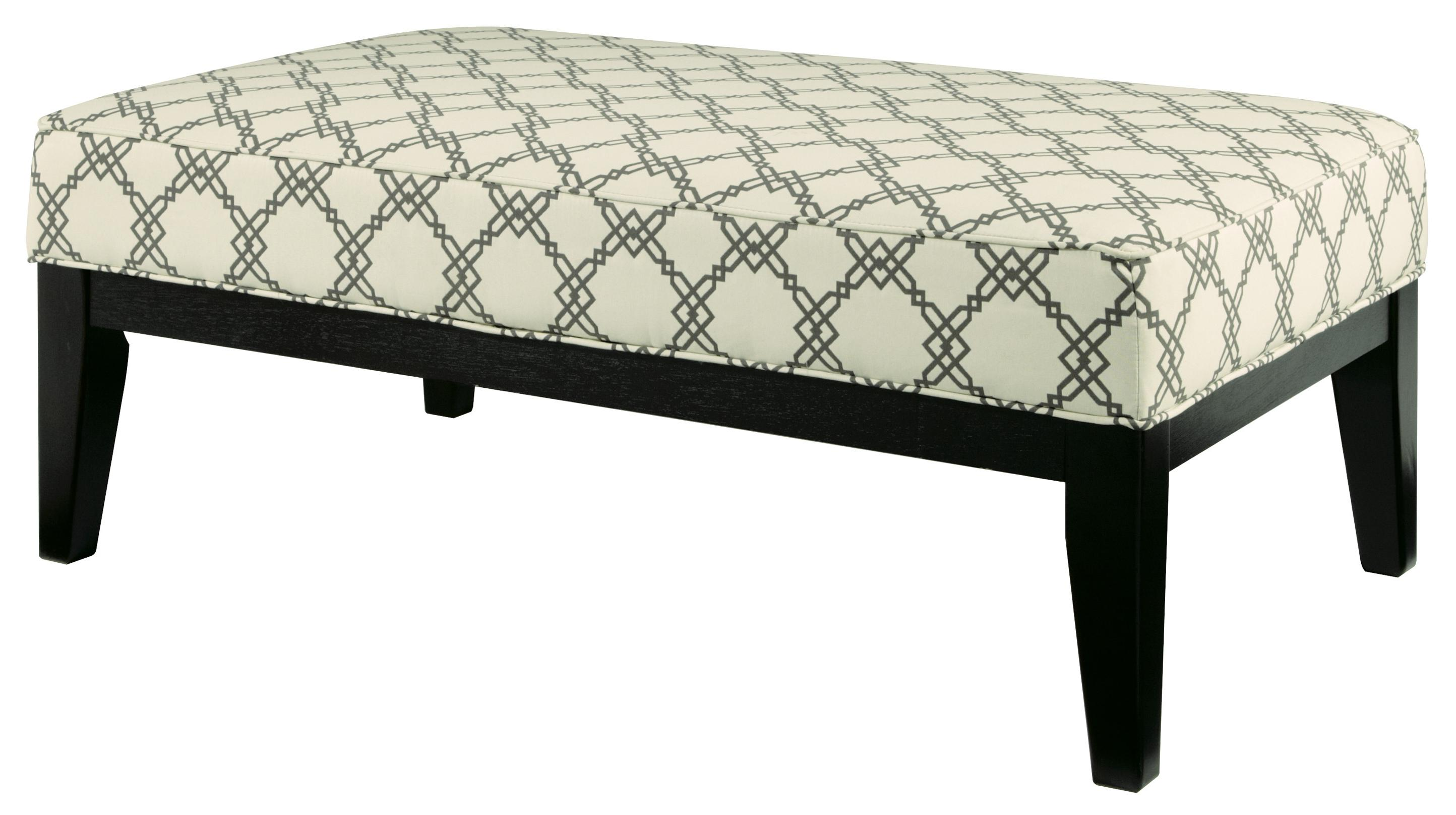 Signature Design by Ashley Daystar - Seafoam Oversized Accent Ottoman - Item Number: 2820008