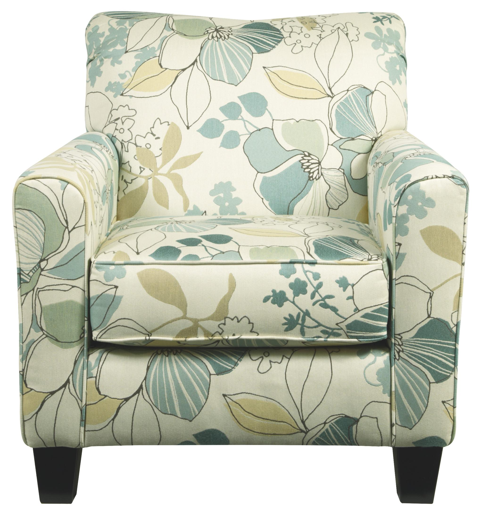 Signature Design by Ashley Daystar - Seafoam Accent Chair - Item Number: 2820021