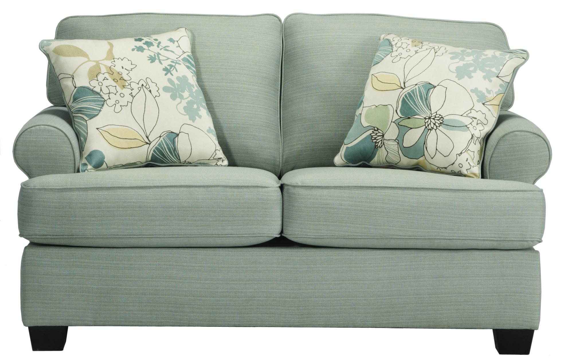 Signature Design by Ashley Daystar - Seafoam Loveseat - Item Number: 2820035