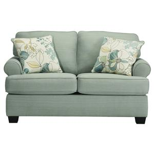 Signature Design by Ashley Daystar - Seafoam Loveseat