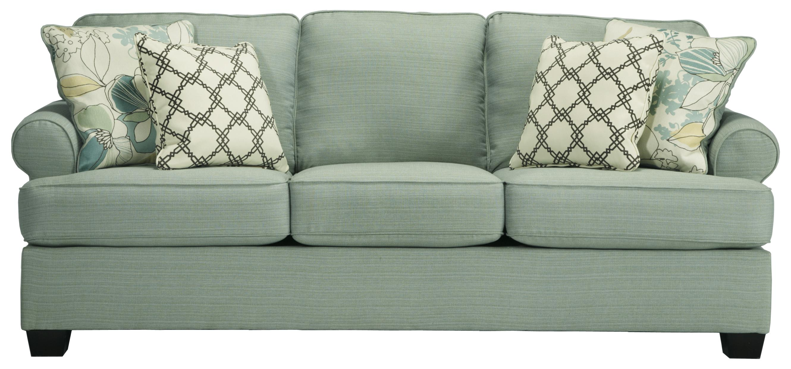 Signature Design by Ashley Daystar Seafoam Contemporary Queen