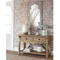 Signature Design by Ashley Dazzelton Relaxed Vintage Sofa Table