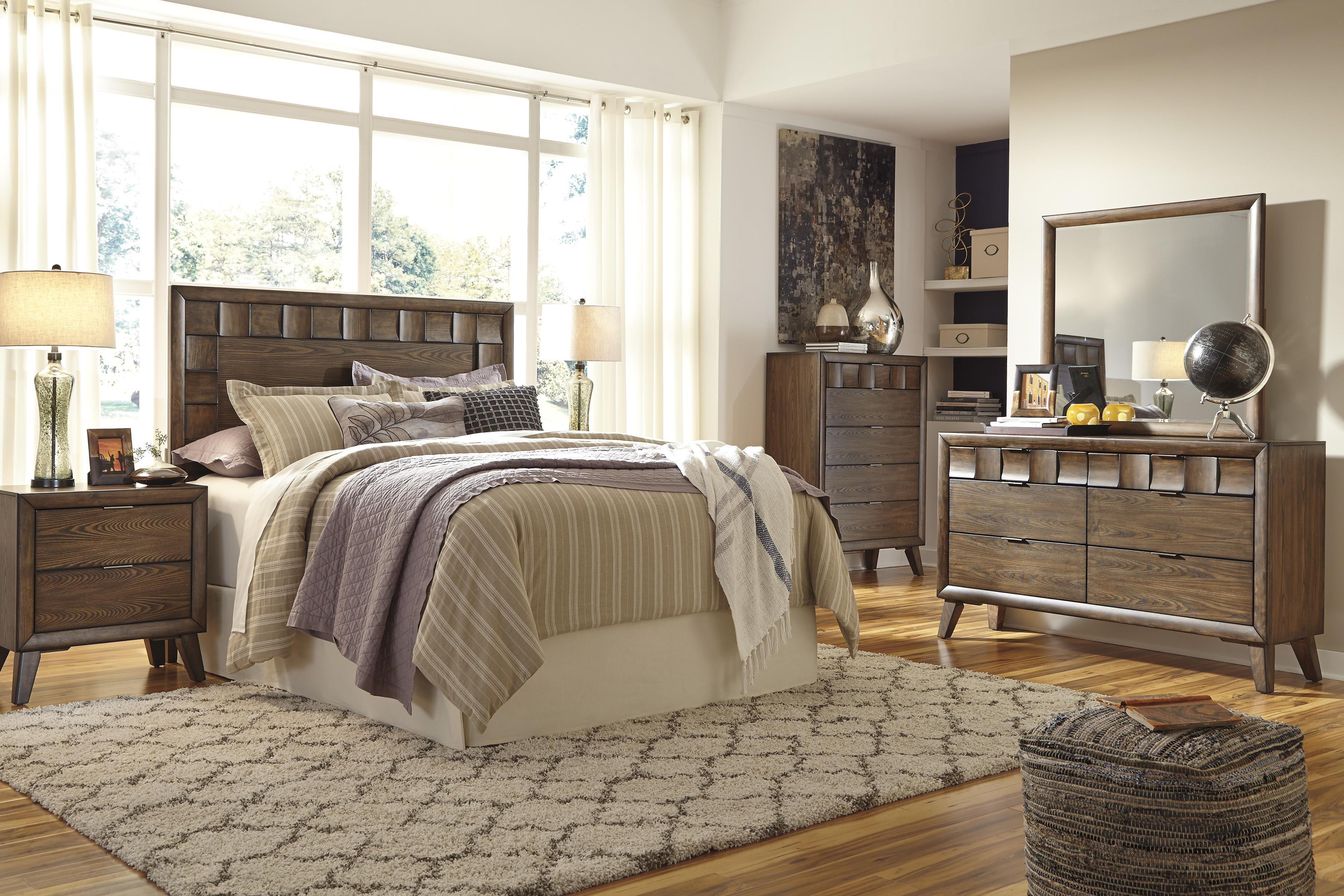 Signature Design by Ashley Debeaux Queen Bedroom Group - Item Number: B535 Q Bedroom Group 1