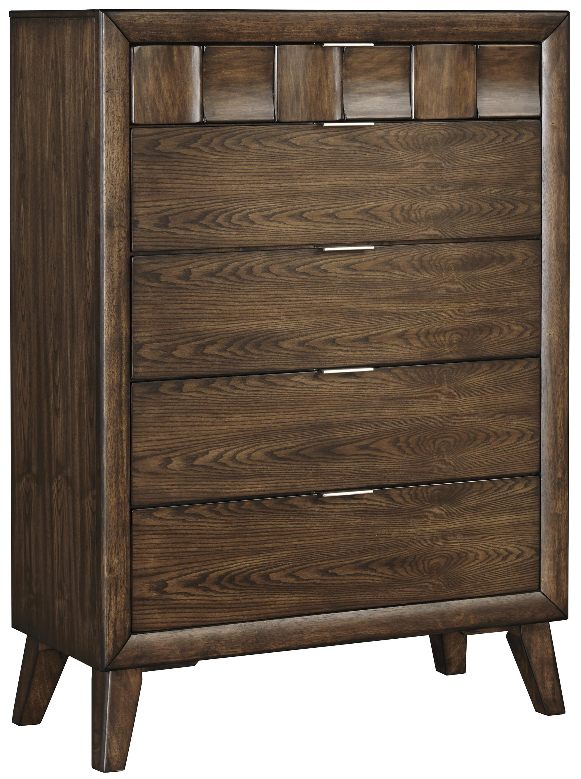 Signature Design by Ashley Debeaux Five Drawer Chest - Item Number: B535-46