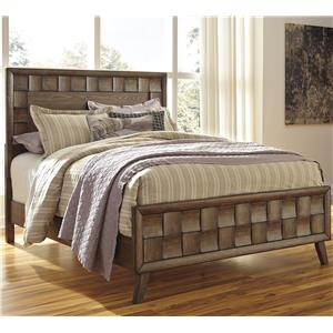 Signature Design by Ashley Debeaux Queen Wood Panel Bed