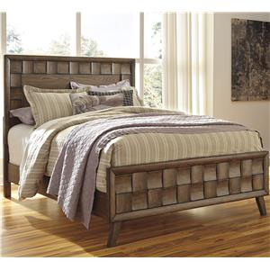 Signature Design by Ashley Debeaux California King Wood Panel Bed