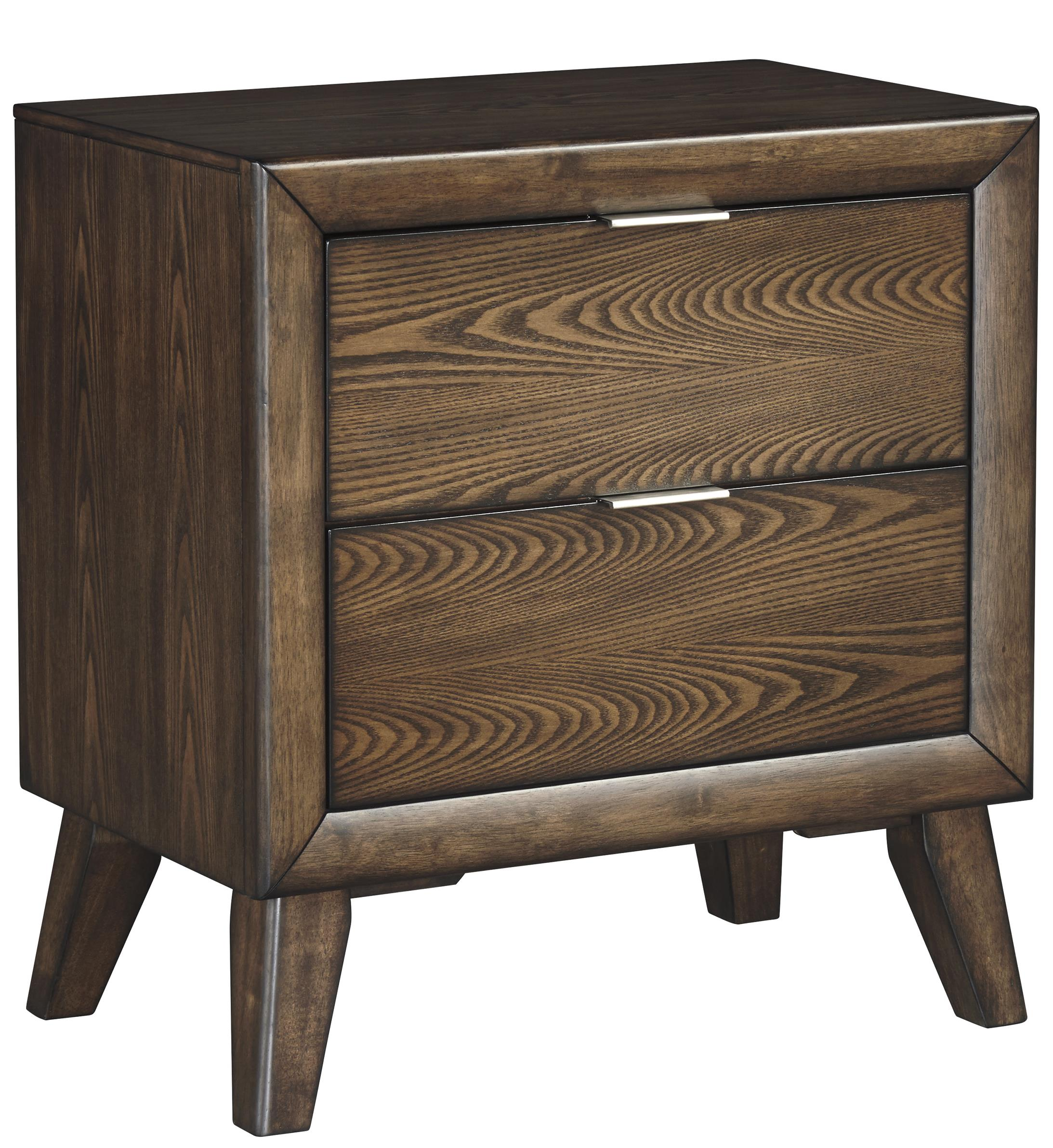 Signature Design by Ashley Debeaux Two Drawer Night Stand - Item Number: B535-92