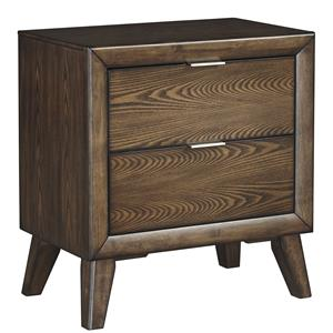 Signature Design by Ashley Debeaux Two Drawer Night Stand