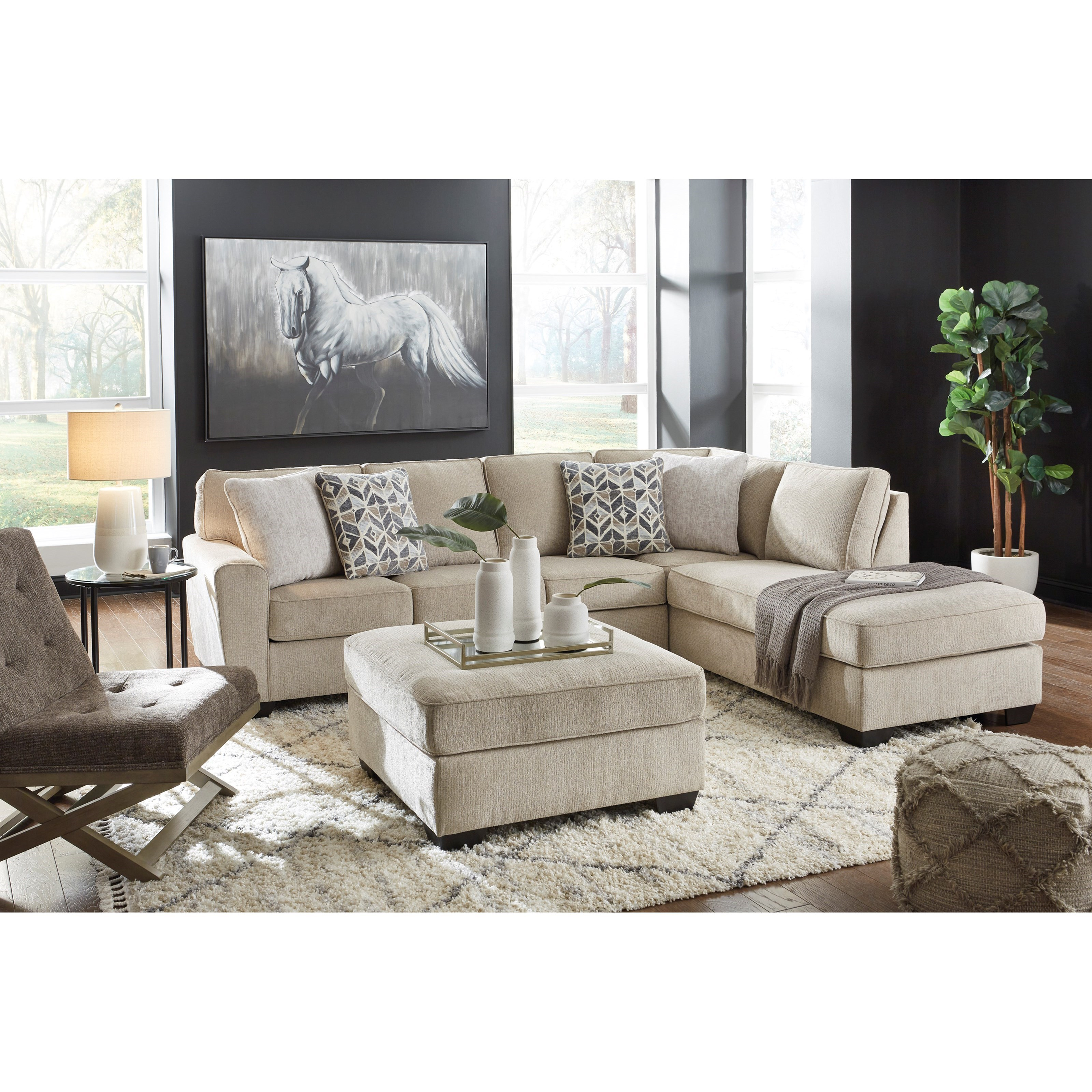 Decelle Living Room Group by Ashley (Signature Design) at Johnny Janosik