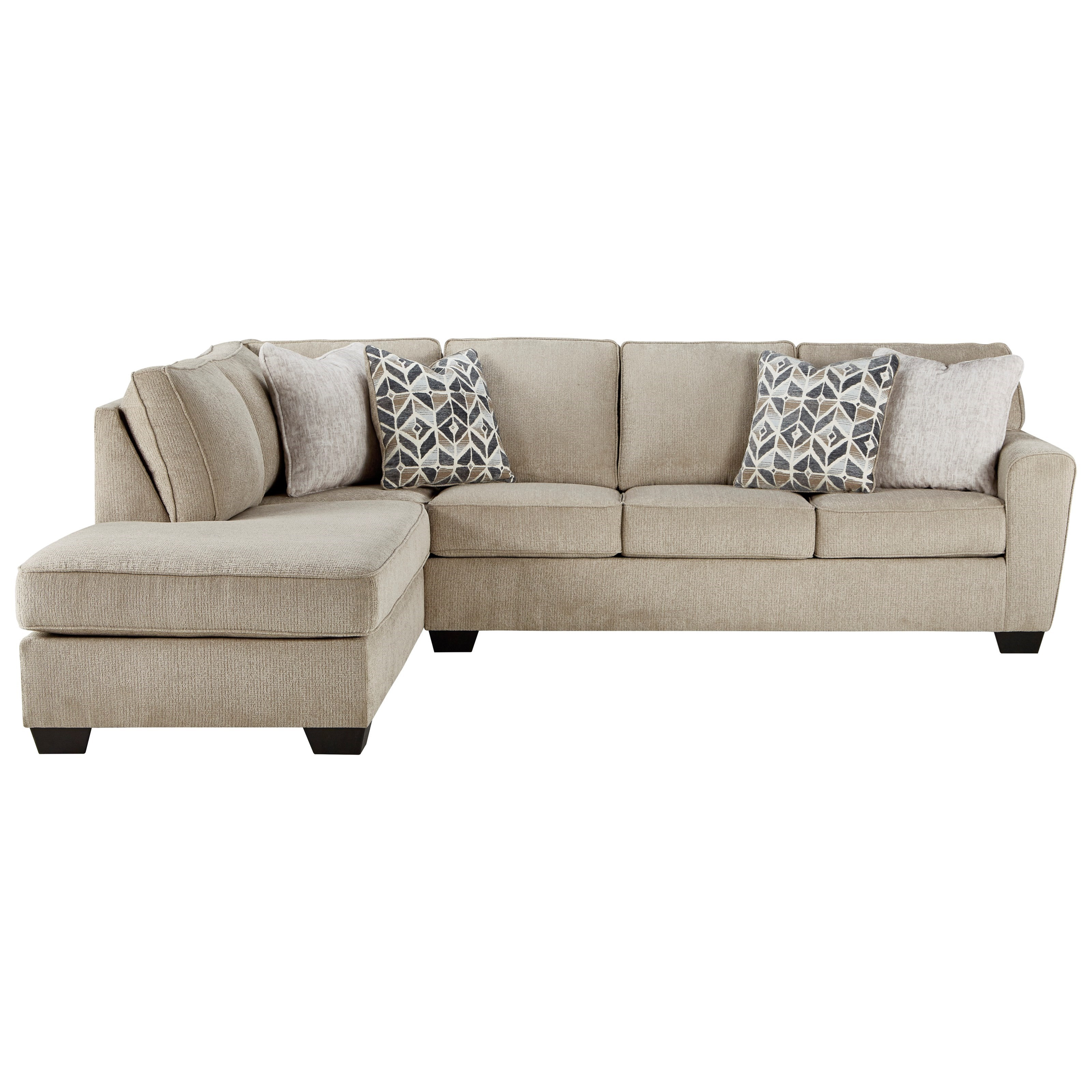 Decelle 2-Piece Sectional with Chaise by Ashley (Signature Design) at Johnny Janosik