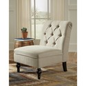 Signature Design by Ashley Degas Traditional Diamond Tufted Accent Chair