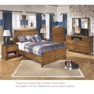 Signature Design by Ashley Delburne 4-PC Full Bedroom