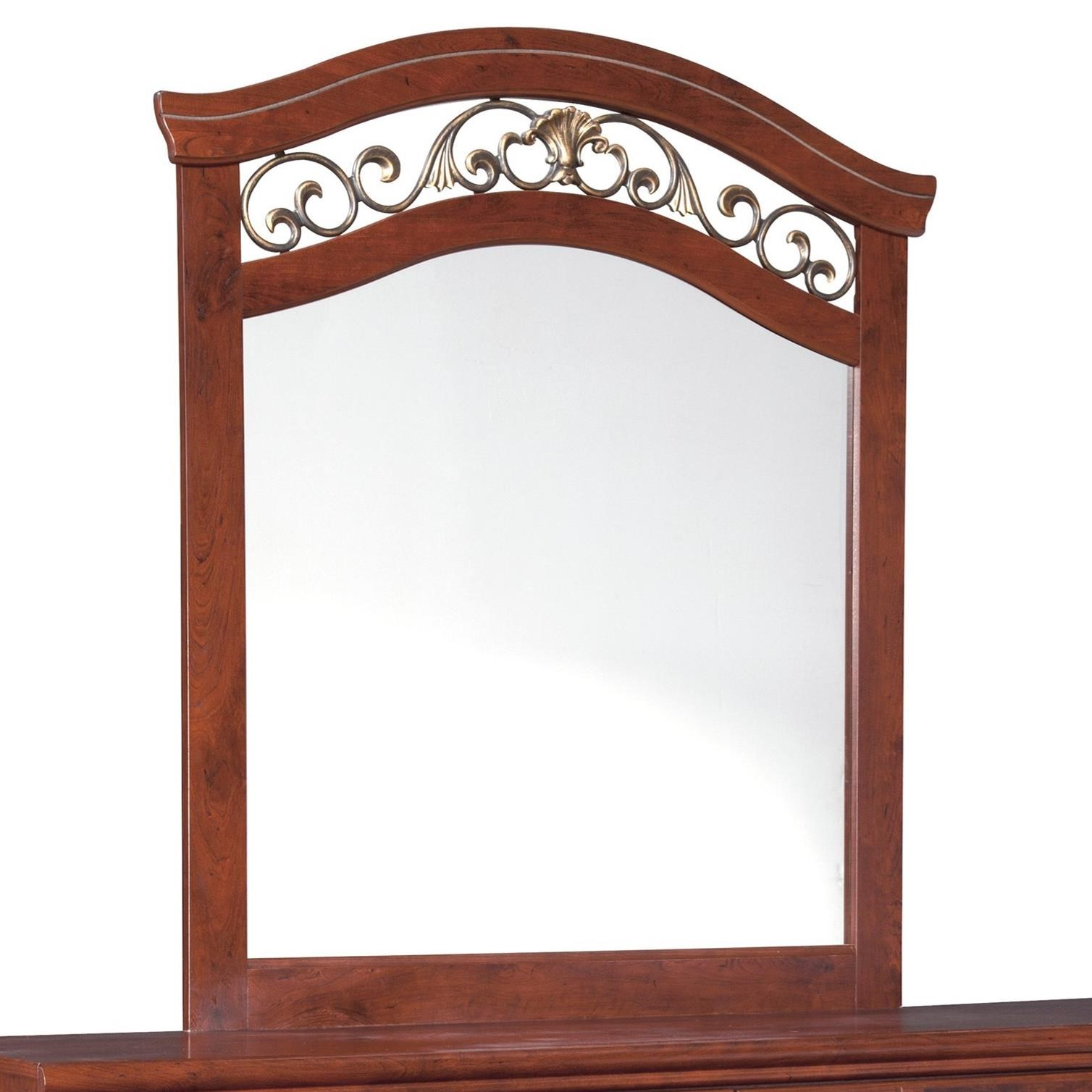Signature Design by Ashley Delianna Bedroom Mirror - Item Number: B223-36