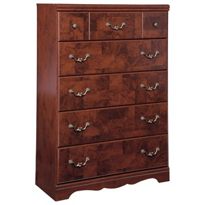Signature Design by Ashley Delianna Five Drawer Chest