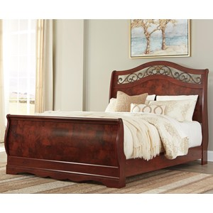 Signature Design by Ashley Delianna Queen Sleigh Bed