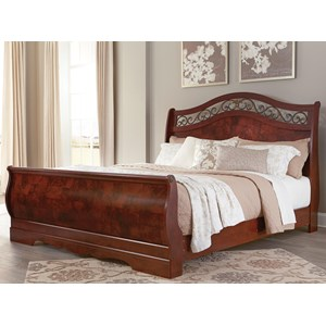 Signature Design by Ashley Delianna King Sleigh Bed