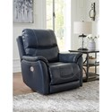 Signature Design by Ashley Dellington Power Recliner with Adjustable Headrest and Built-In USB Port