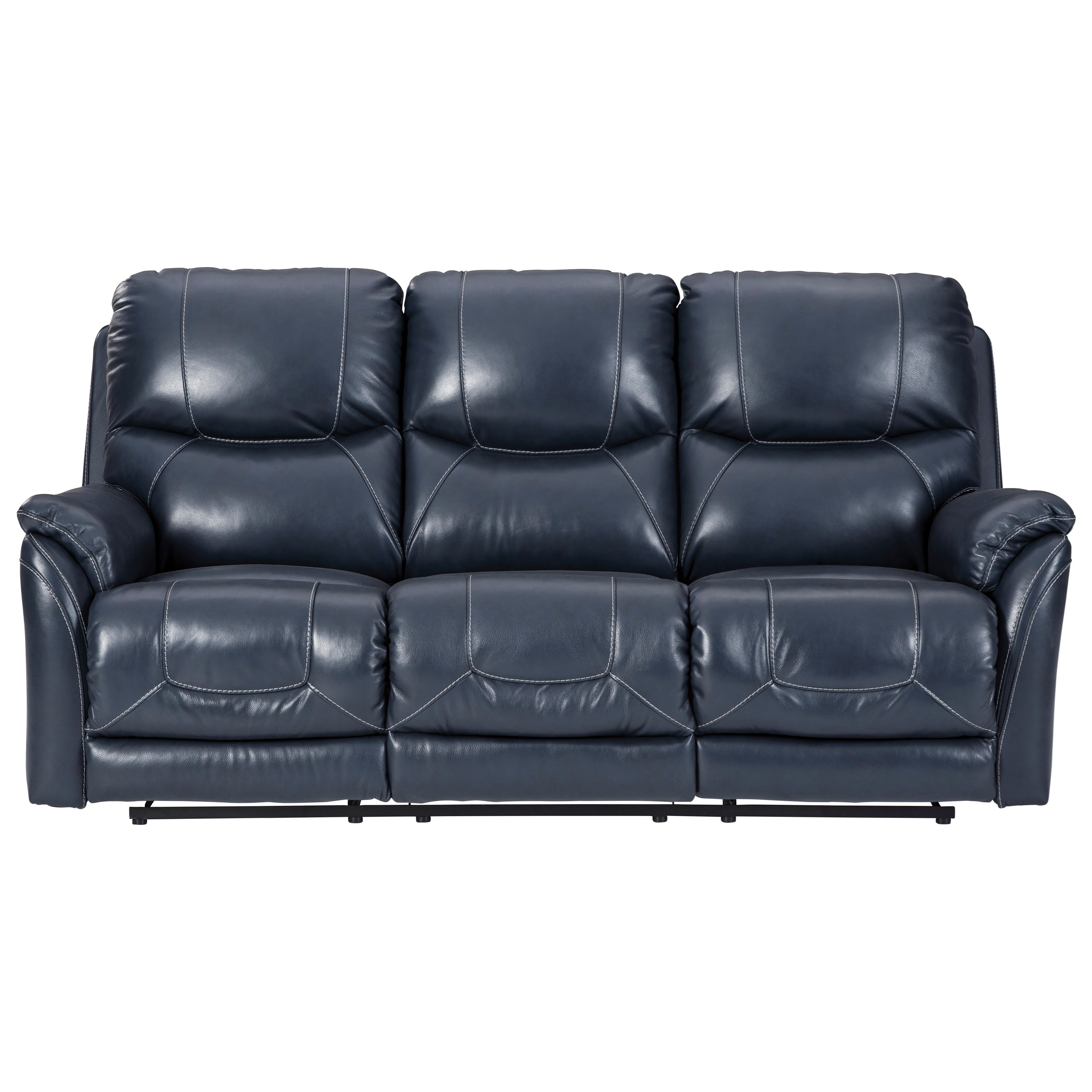 Dellington Power Reclining Sofa with Adjustable HR by Ashley (Signature Design) at Johnny Janosik